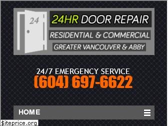 24hr-doorepair.ca website worth