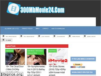 300mbmovie24.com website worth
