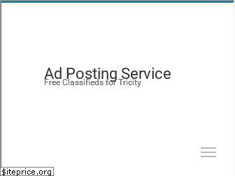 adpostingservice.in website worth