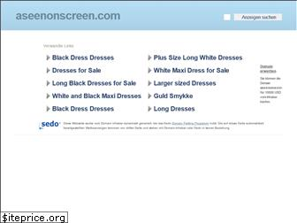 aseenonscreen.com website worth