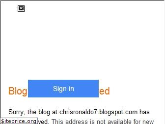 chrisronaldo7.blogspot.in website worth