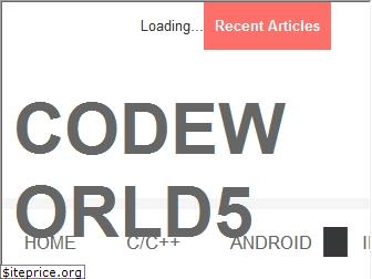 codeworld55.blogspot.in website worth
