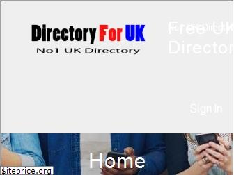 directoryforuk.co.uk website worth