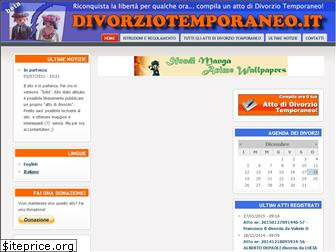 divorziotemporaneo.it website worth