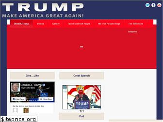 donaldjtrump.info website worth