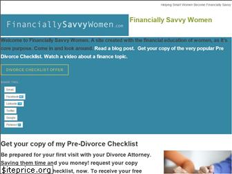 financiallysavvywomen.com website worth