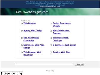geauxwebdesigns.com website worth