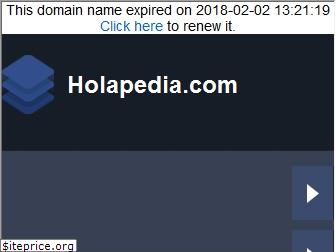 holapedia.com website worth