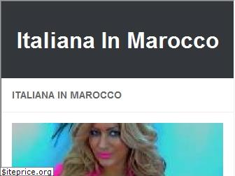 italianainmarocco.com website worth
