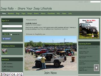 jeeprally.com website worth
