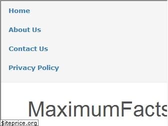 maximumfacts.in website worth