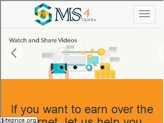 ms4clicks.com website worth