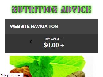 nutritionadvice.org website worth