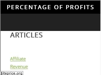 percentageofprofits.com website worth