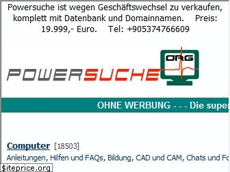 powersuche.org website worth
