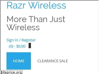 razrwireless.com website worth