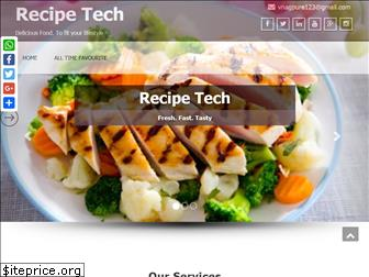 recipetech.com website worth