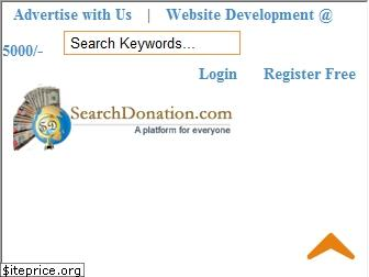 searchdonation.org website worth