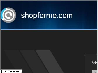 shopforme.com website worth