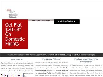 travelomonk.com website worth