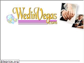 wedinvegas.com website worth