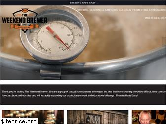 weekendbrewer.com website worth