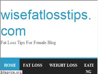 wisefatlosstips.com website worth