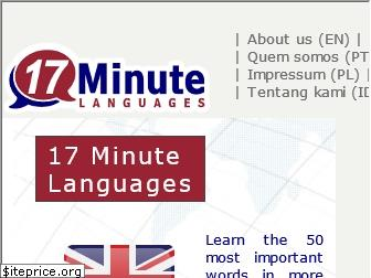 17-minute-world-languages.com