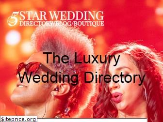 5starweddingdirectory.com