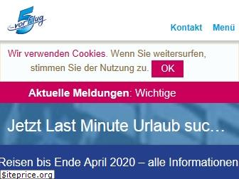 www.5vorflug.de website price