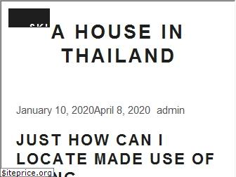 a-house-in-thailand.com