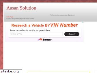 aasansolution.in