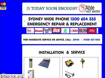 ablehotwater.com.au