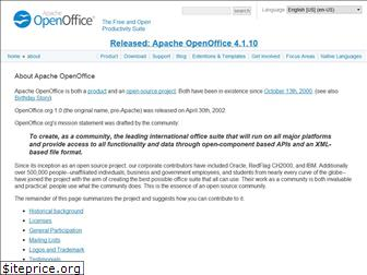 about.openoffice.org