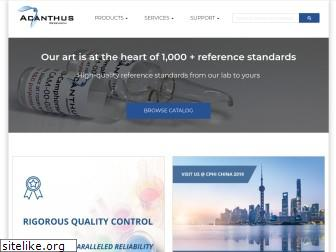 acanthusresearch.com