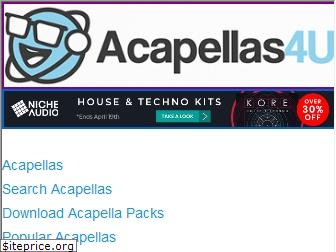 acapellas4u.co.uk