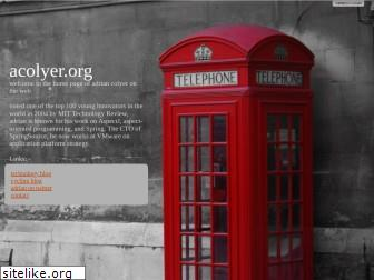 acolyer.org