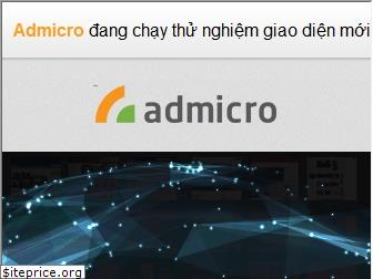 www.admicro.vn website price