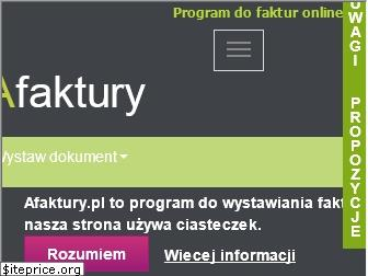 www.afaktury.pl website price