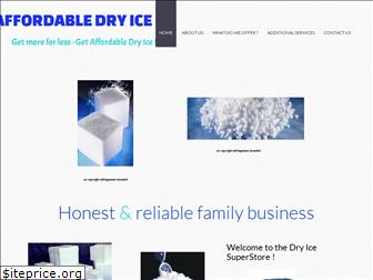 affordabledryicesales.com