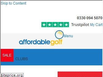www.affordablegolf.co.uk website price