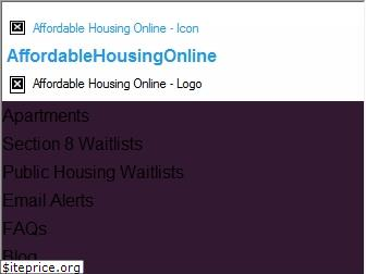 affordablehousingonline.com