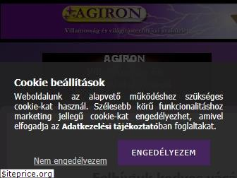 www.agiron.unas.hu website price