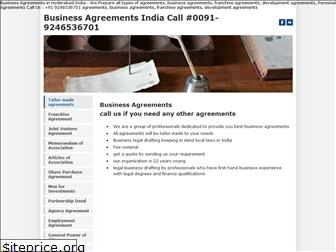 agreement.co.in