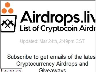airdrops.live