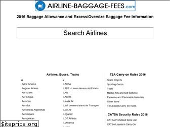 airline-baggage-fees.com