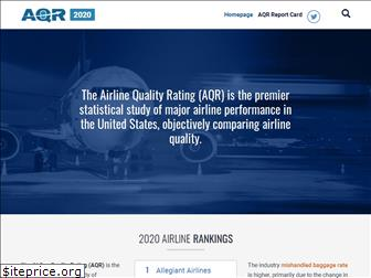 airlinequalityrating.com
