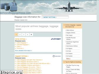 airlinesbaggagesizes.com