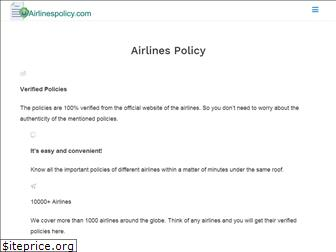 airlinespolicy.com