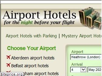 www.airport-hotels.co.uk website price
